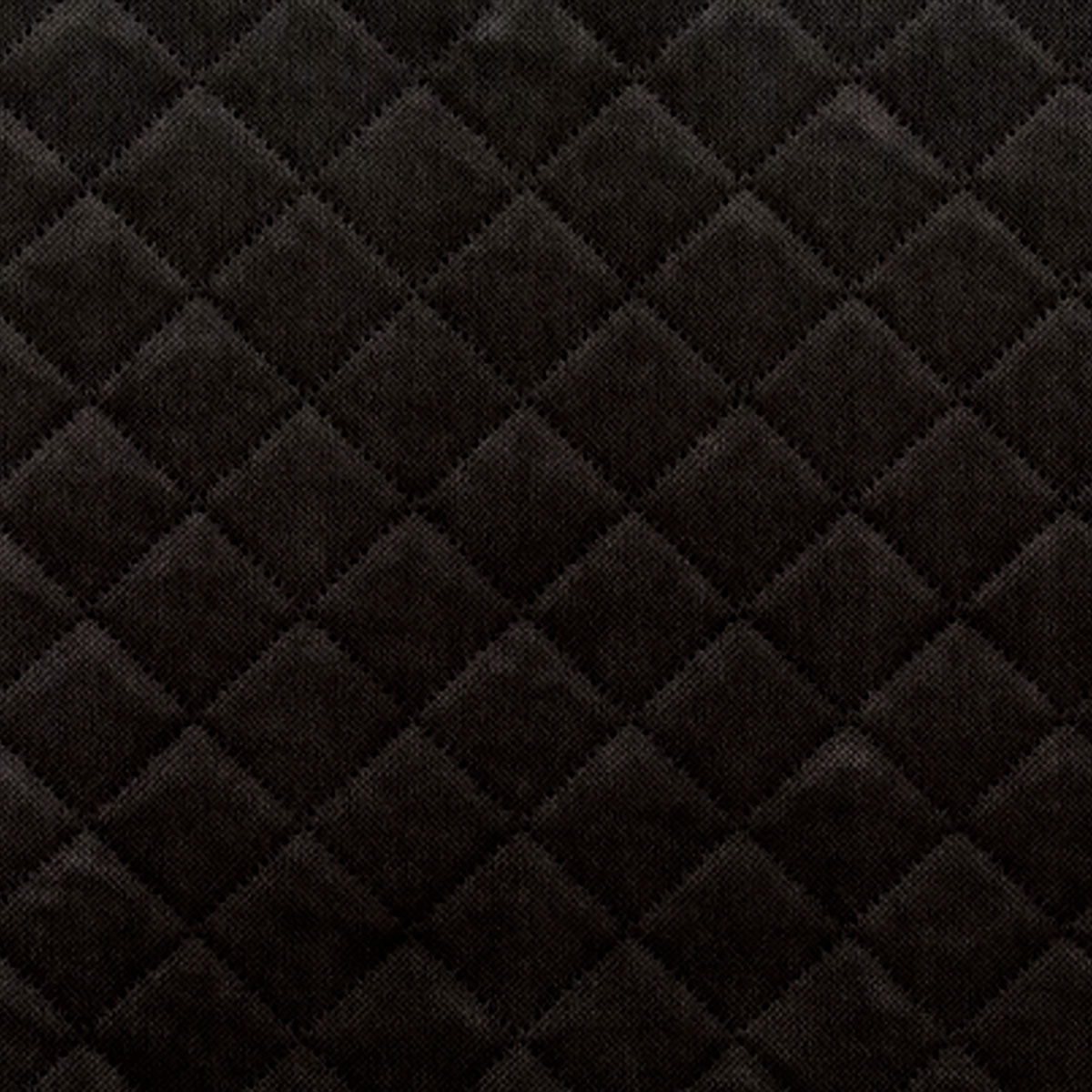 Fabric 13 - Quilted velvet Black